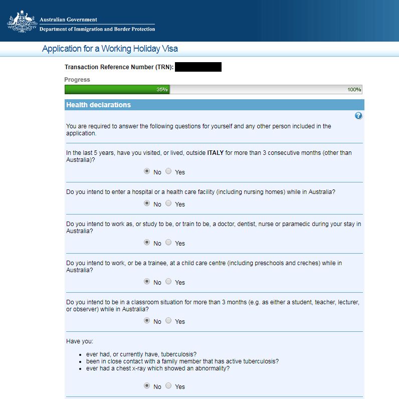 Cattura10 1 - Come richiedere il Working Holiday Visa per L'Australia: la guida step-by-step