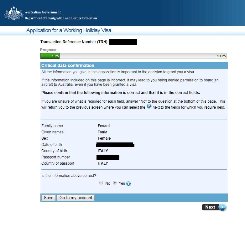Cattura5 - Come richiedere il Working Holiday Visa per L'Australia: la guida step-by-step