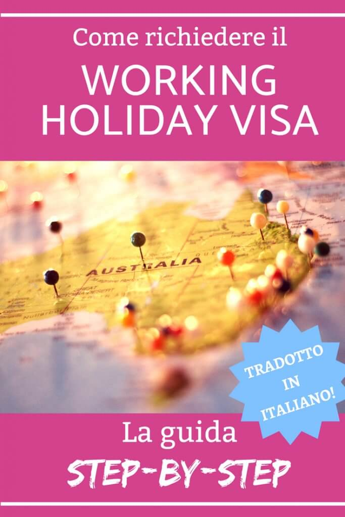 visto australia working holiday