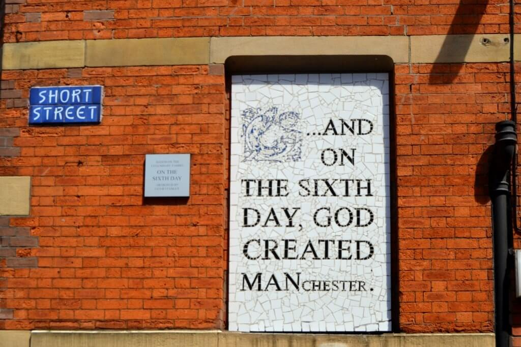 And on the sixth day God created Manchester 1 1024x683 - Cosa vedere a Manchester in un Weekend