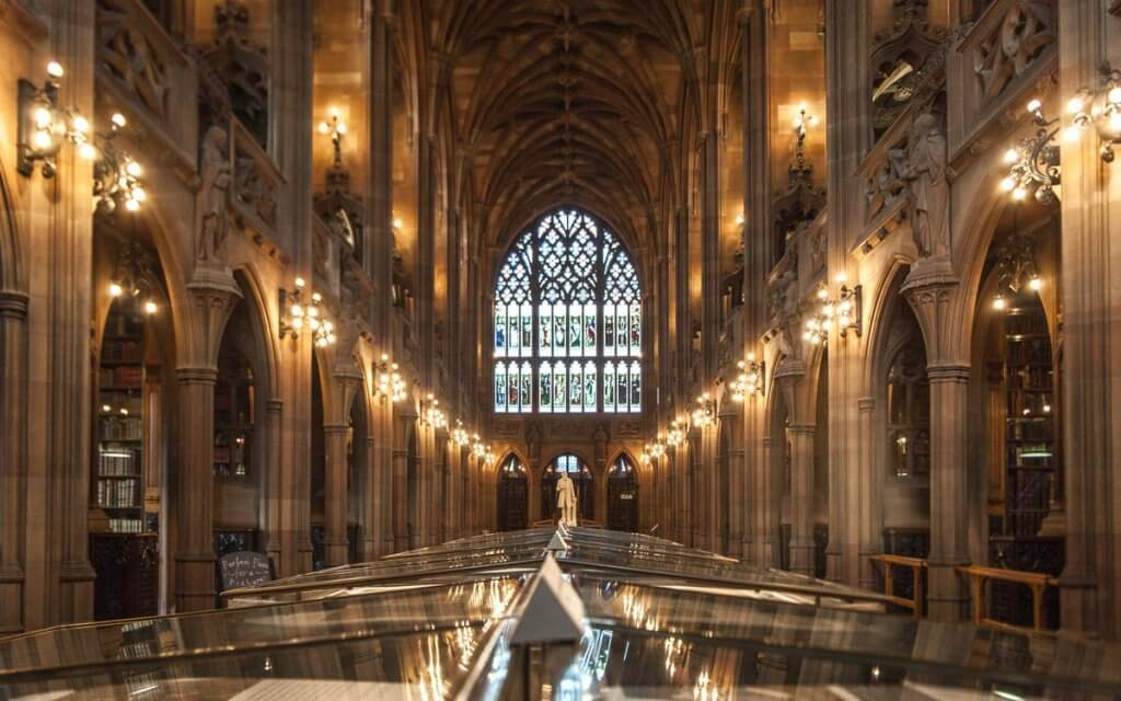 John Rylands Library 1024x640 - Cosa vedere a Manchester in un Weekend