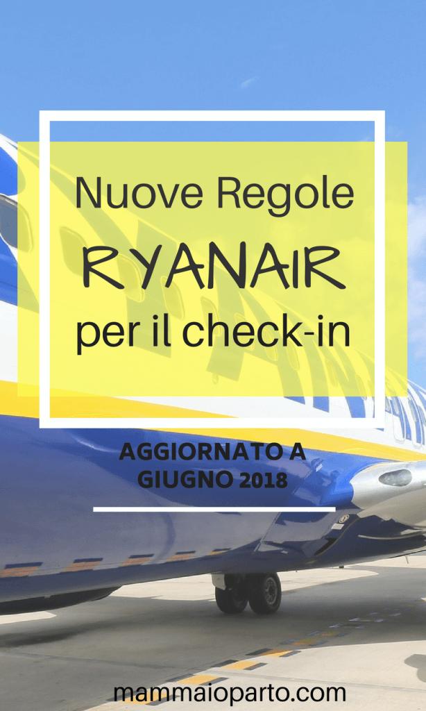 ryanair nuove regole giugno 2018