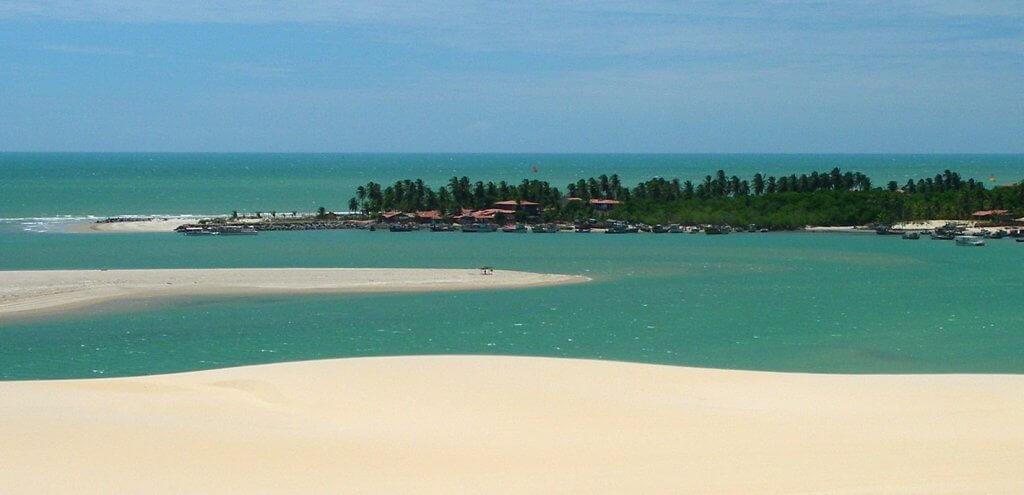 vista di praia do cumbuco fortaleza