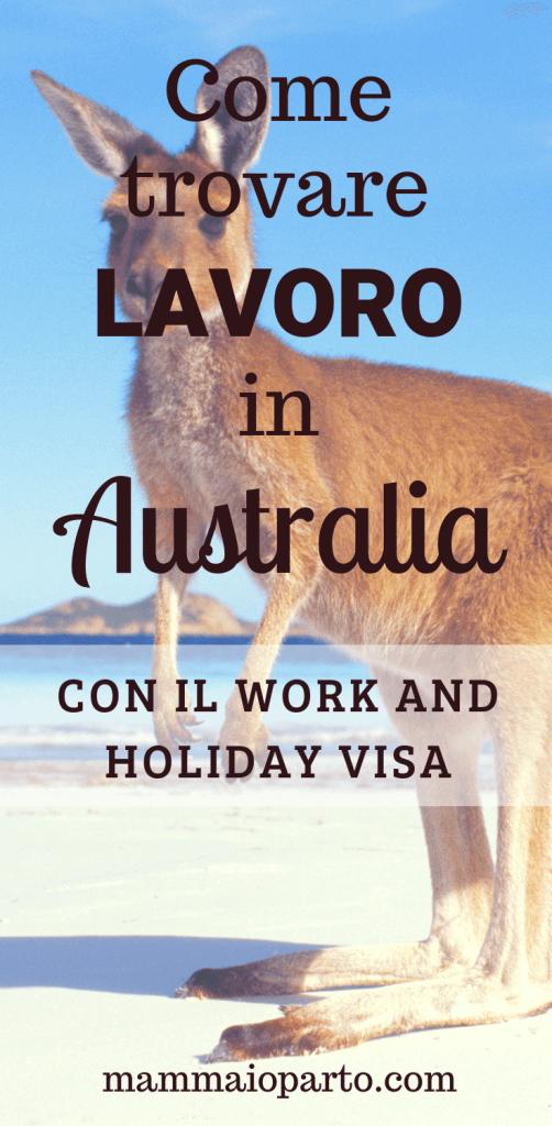 come trovare lavoro in australia con il working holiday visa articolo