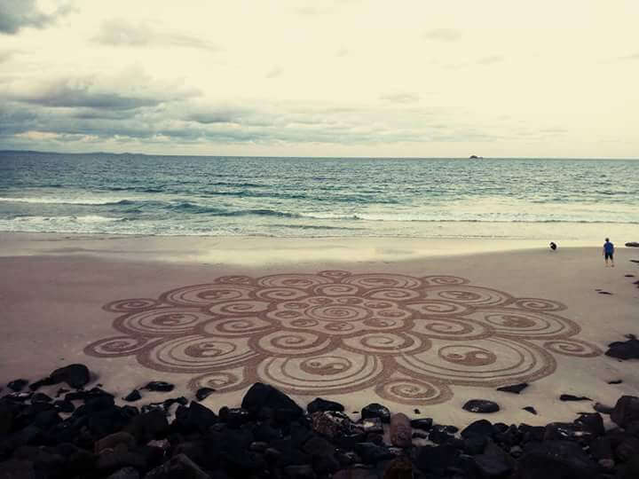beach mandala byron bay