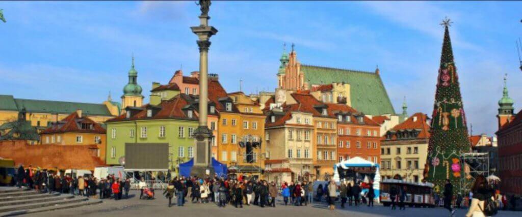 città di varsavia
