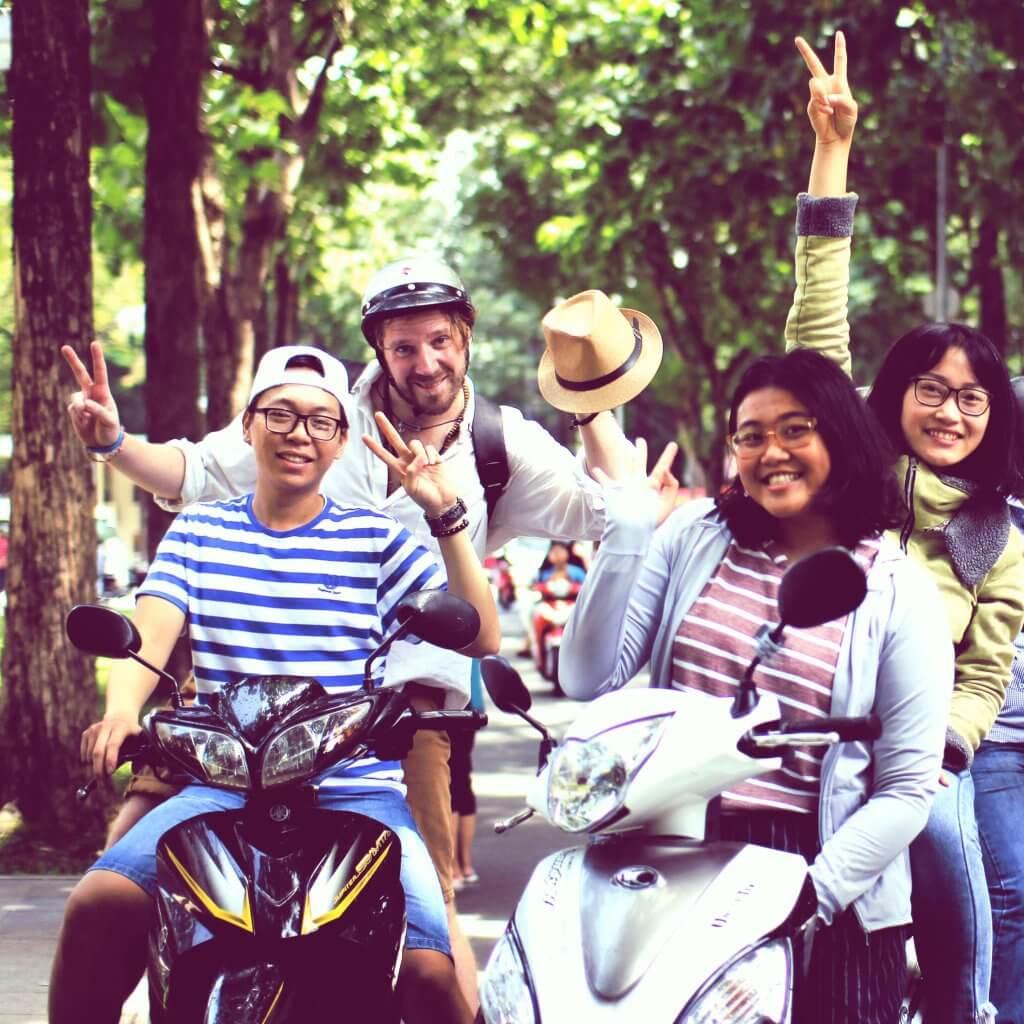 karim esperienza in vietnam